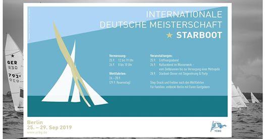 International Deutsche Meisterschaft der Starboot-Klasse